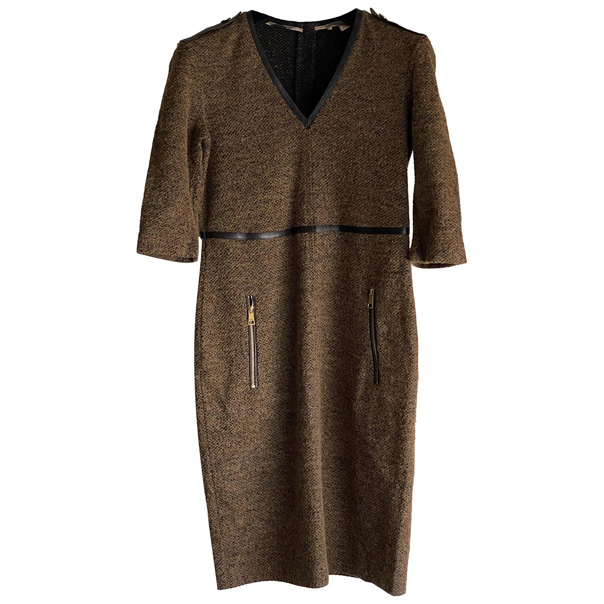 Vestido midi de Lana Burberry