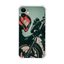 iPhone Schutzhuelle mit Motorrad Muster