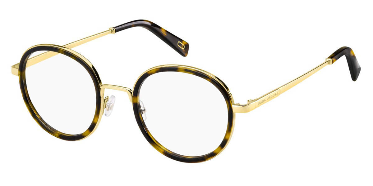 Marc Jacobs MARC 396 086 Mens Glasses Tortoise Size 50 - Free Lenses - HSA/FSA Insurance - Blue Light Block Available