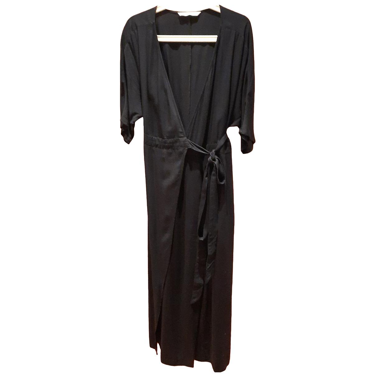 Zara - Combinaison   pour femme en coton - marine