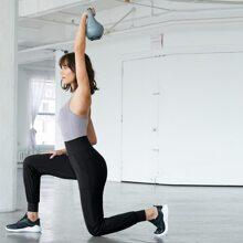 Pantalones yoga con bolsillo de spandex