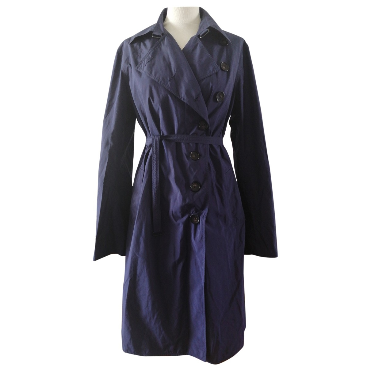 Ramosport \N Trench in  Blau Polyester
