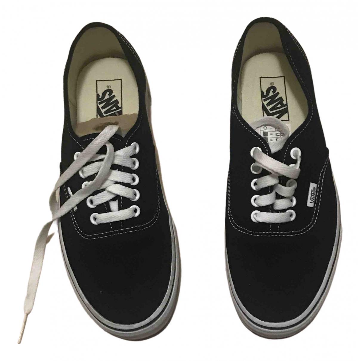 Vans \N Black Cloth Trainers for Men 9 US