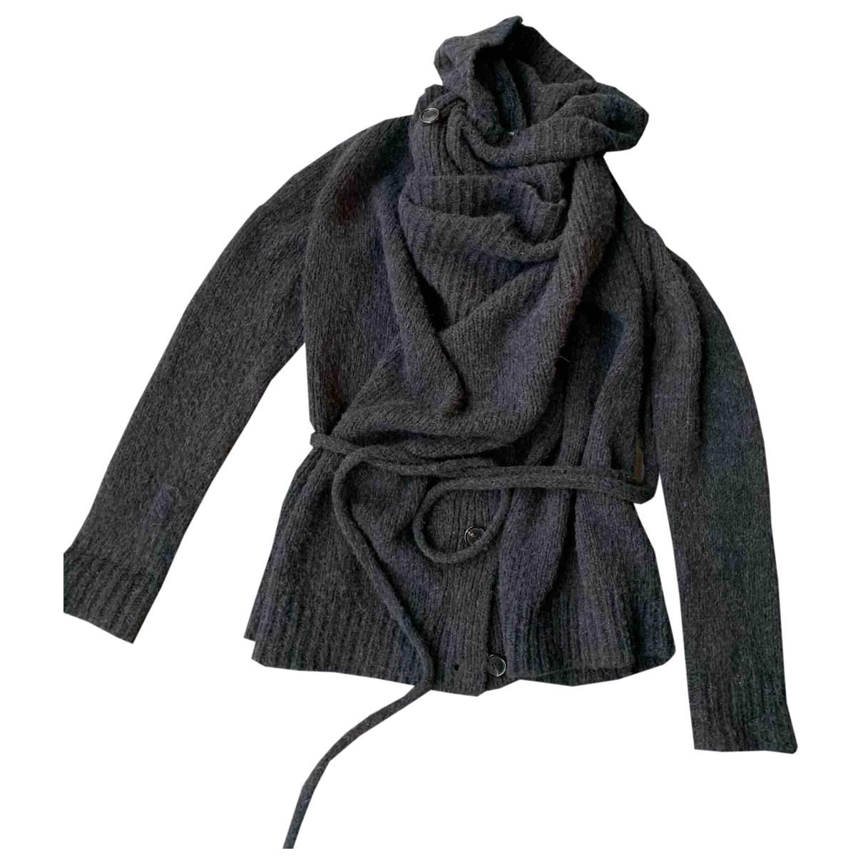 Ann Demeulemeester - Veste   pour femme en laine - bleu