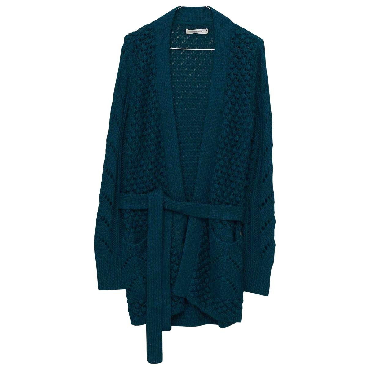 Sessun - Pull   pour femme en laine - vert