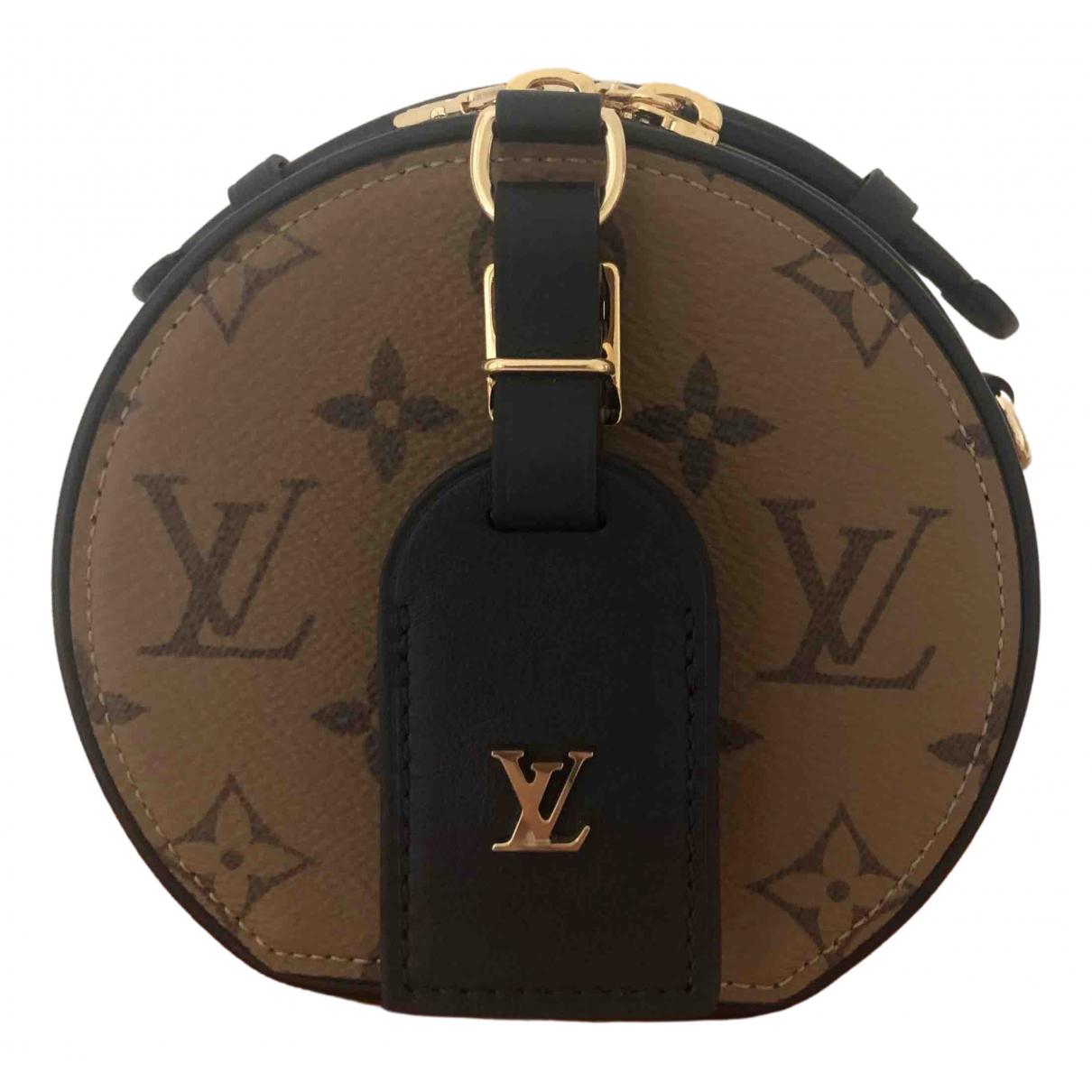 Bandolera Petite Boite a Chapeau de Lona Louis Vuitton