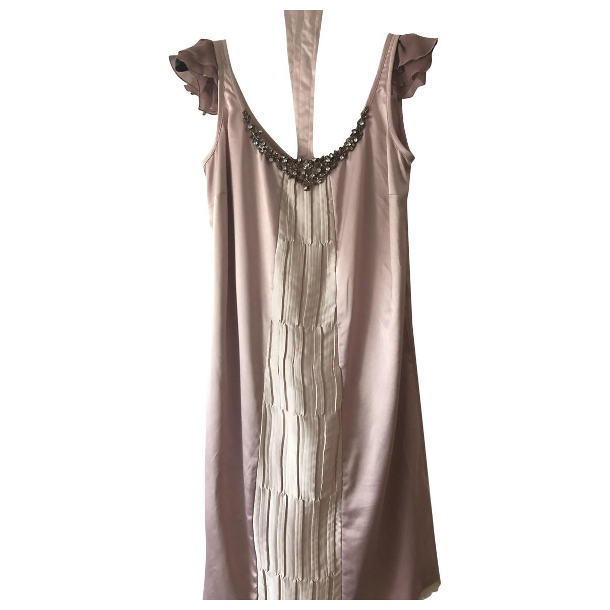 Liu.jo \N Kleid in  Rosa Polyester