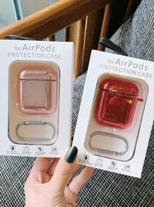 1pc Metallic Airpods Box Protector