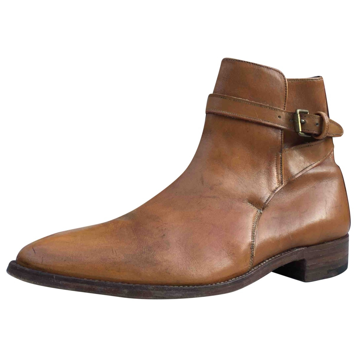 Mulberry \N Brown Leather Boots for Men 9.5 UK