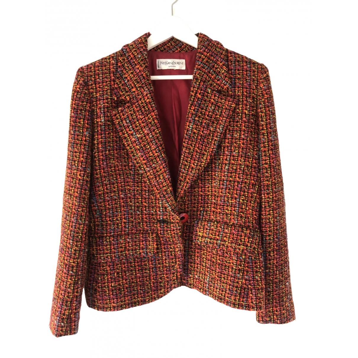 Yves Saint Laurent \N Multicolour Wool jacket for Women 40 FR