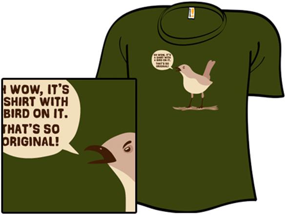 Mocking Bird T Shirt