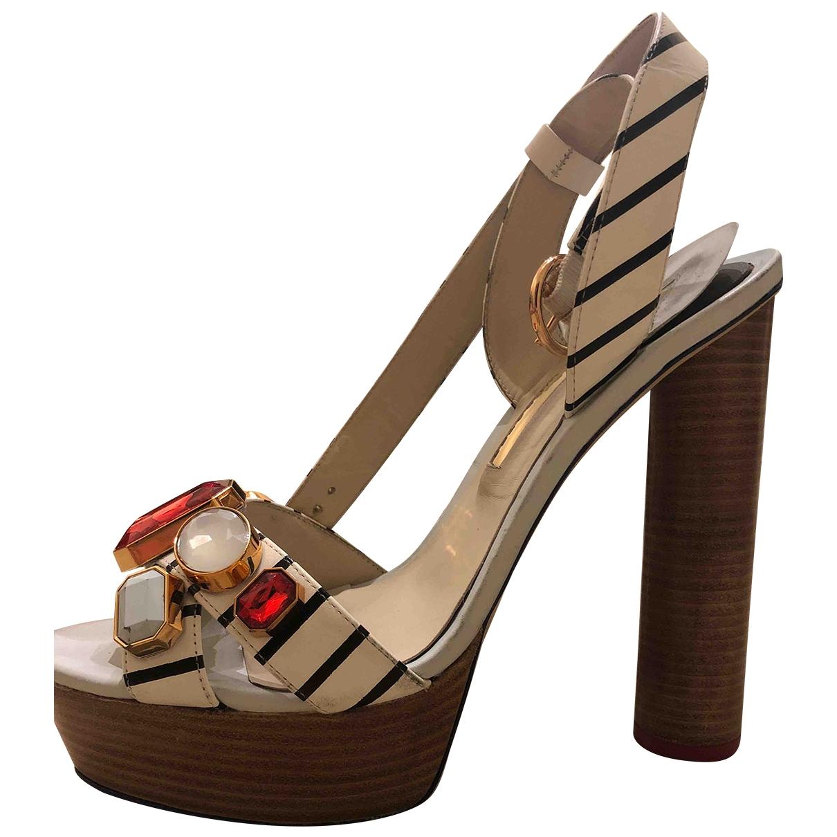Sophia Webster \N Multicolour Leather Sandals for Women 40 EU