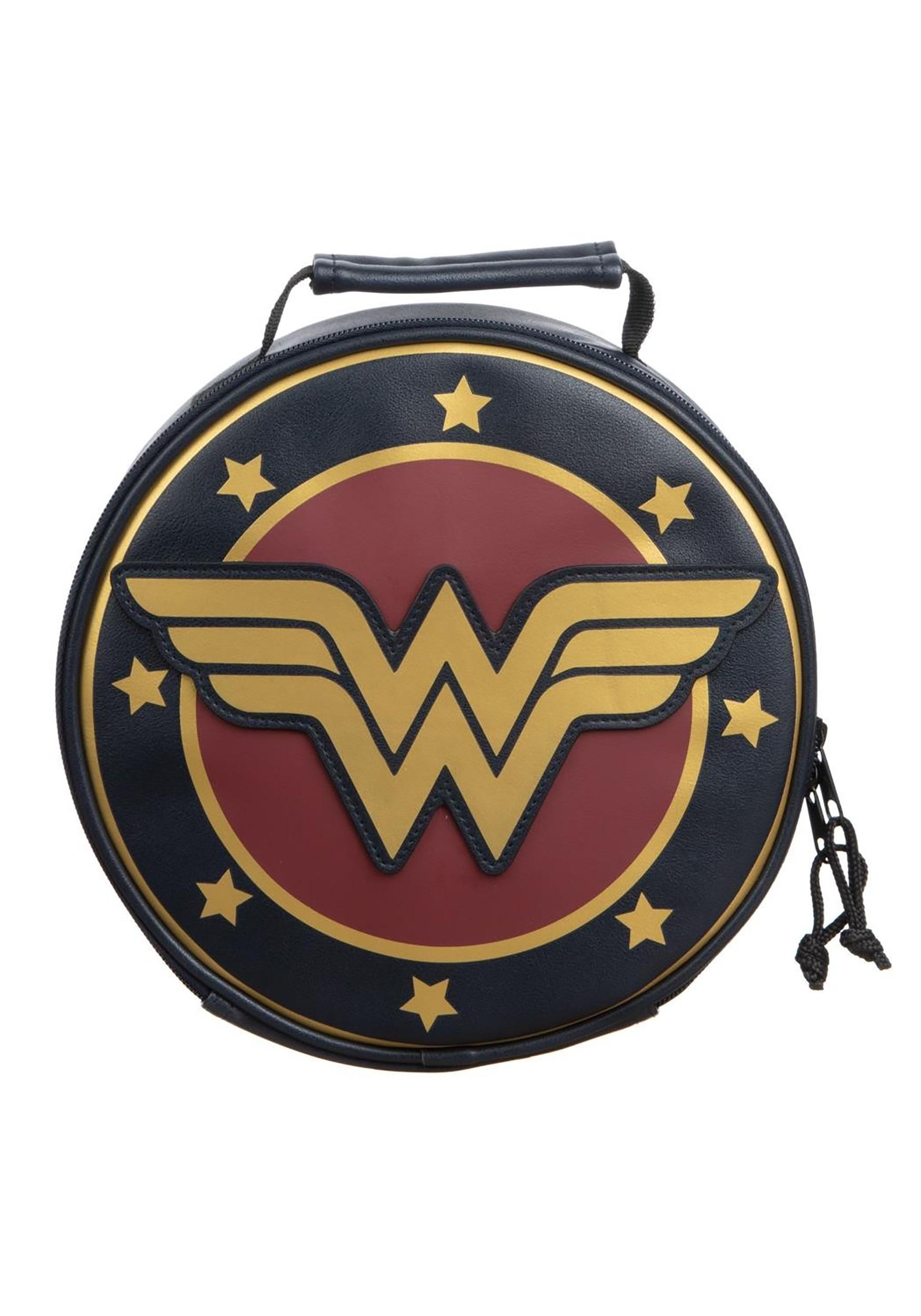 Wonder Woman Crest Lunch Tote
