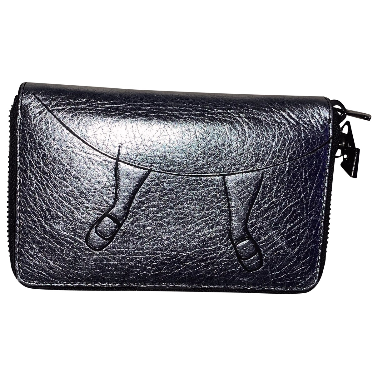 Marc By Marc Jacobs \N Silver Leather wallet for Women \N