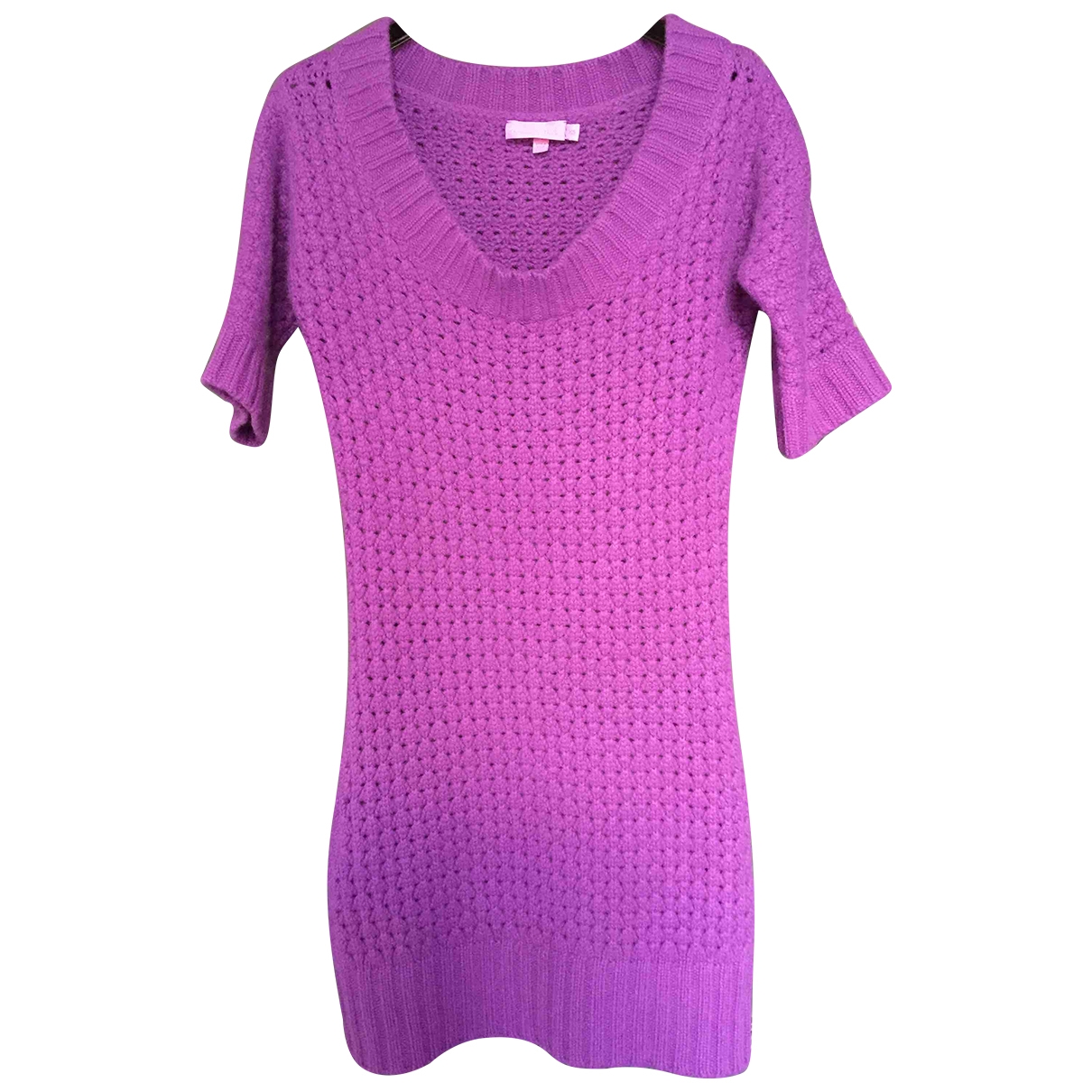 Christiane Celle \N Purple Cashmere dress for Women XS International