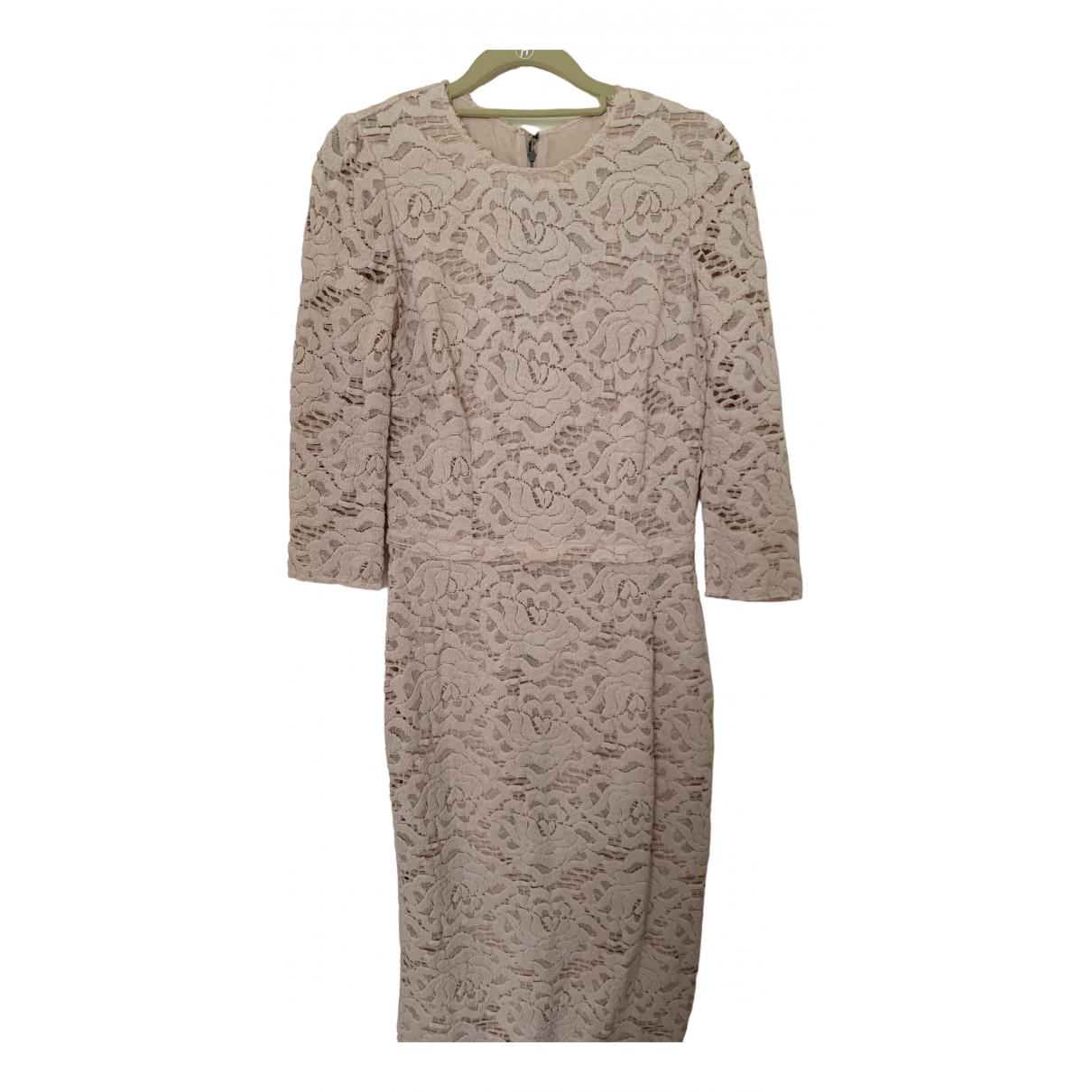 Dolce & Gabbana \N Pink Cotton dress for Women 42 IT