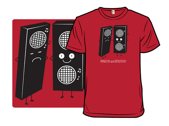 Monolith And Stereolith T Shirt