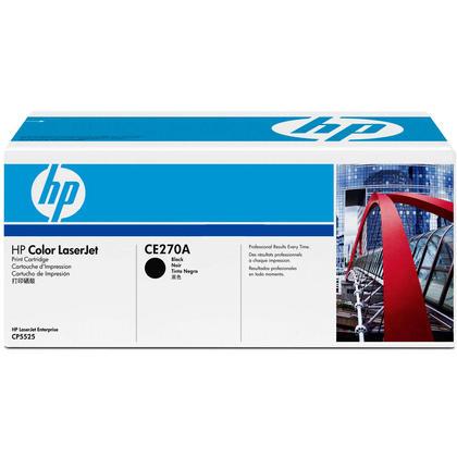 HP 650A CE270A cartouche de toner originiale noire