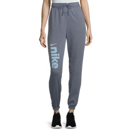 Nike Womens Mid Rise Plus Jogger Pant, 1x , Blue