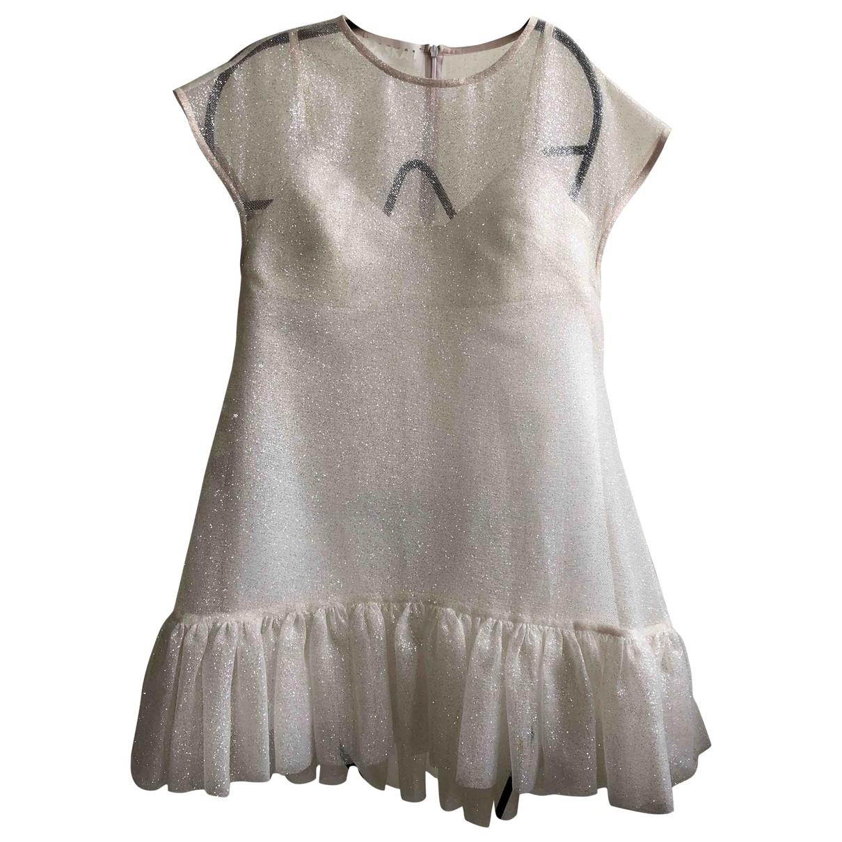 Paskal \N Kleid in  Weiss Polyester