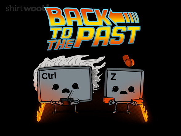 Back To The Past T Shirt