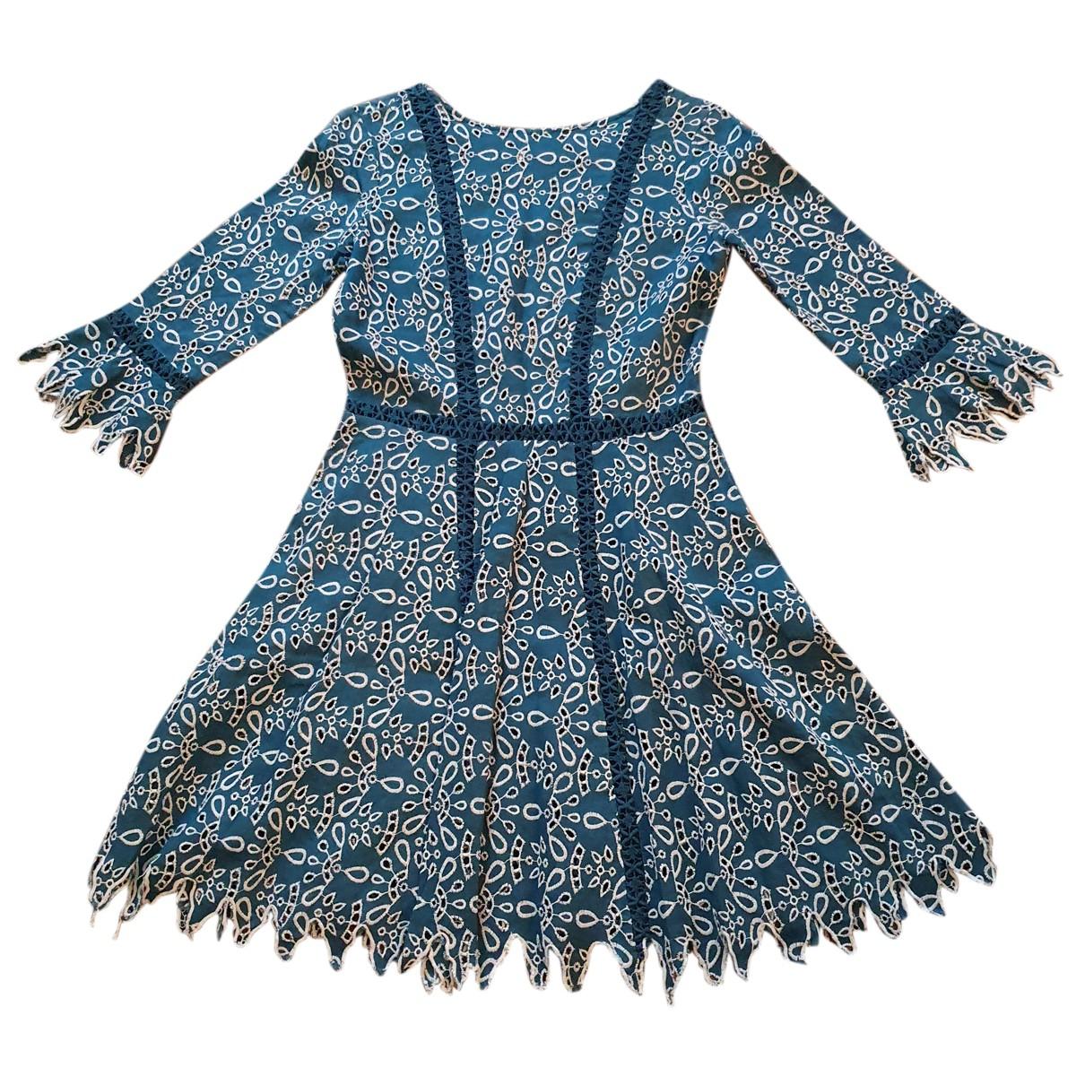 Maje N Green Cotton dress for Women 36 FR