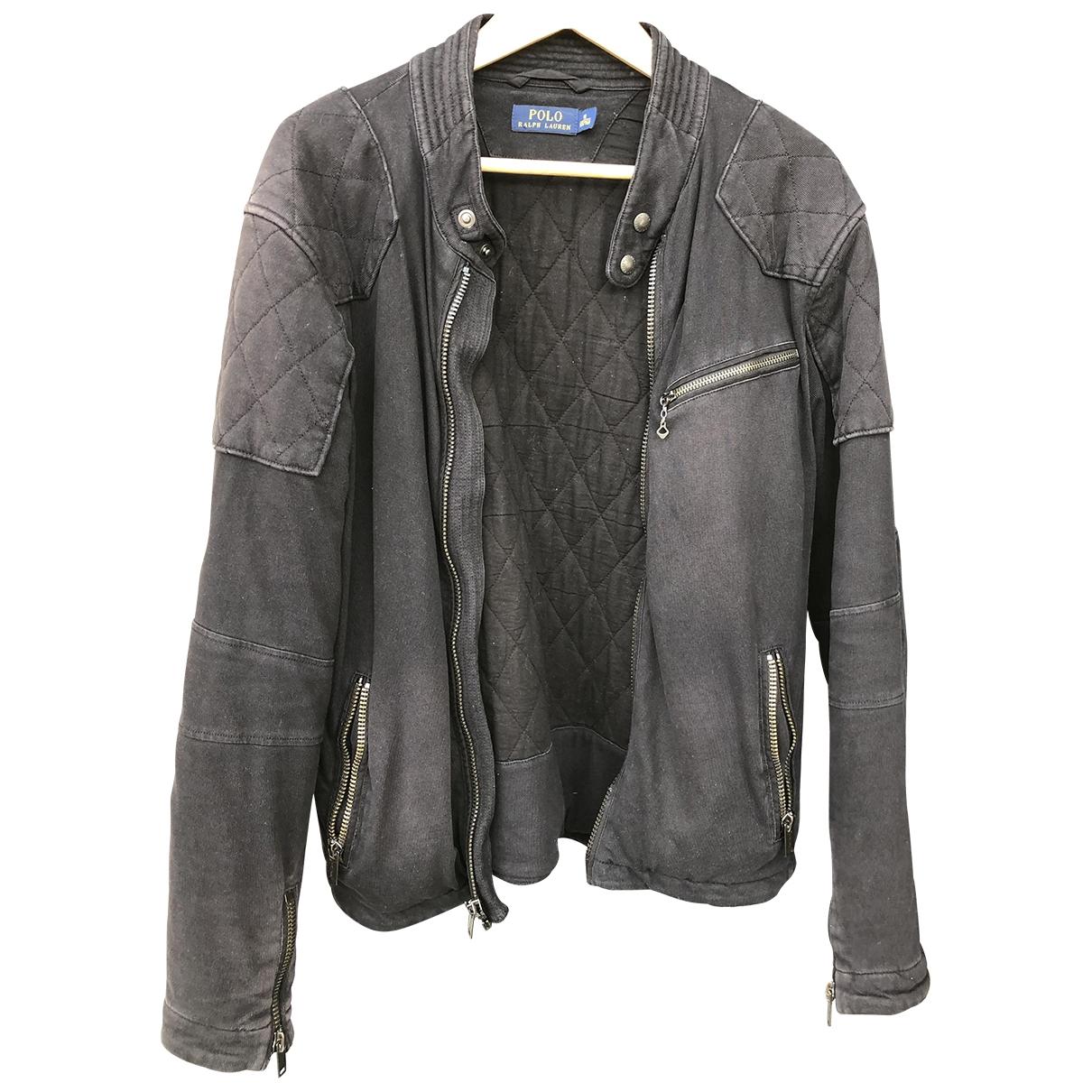Polo Ralph Lauren \N Jacke in  Schwarz Baumwolle