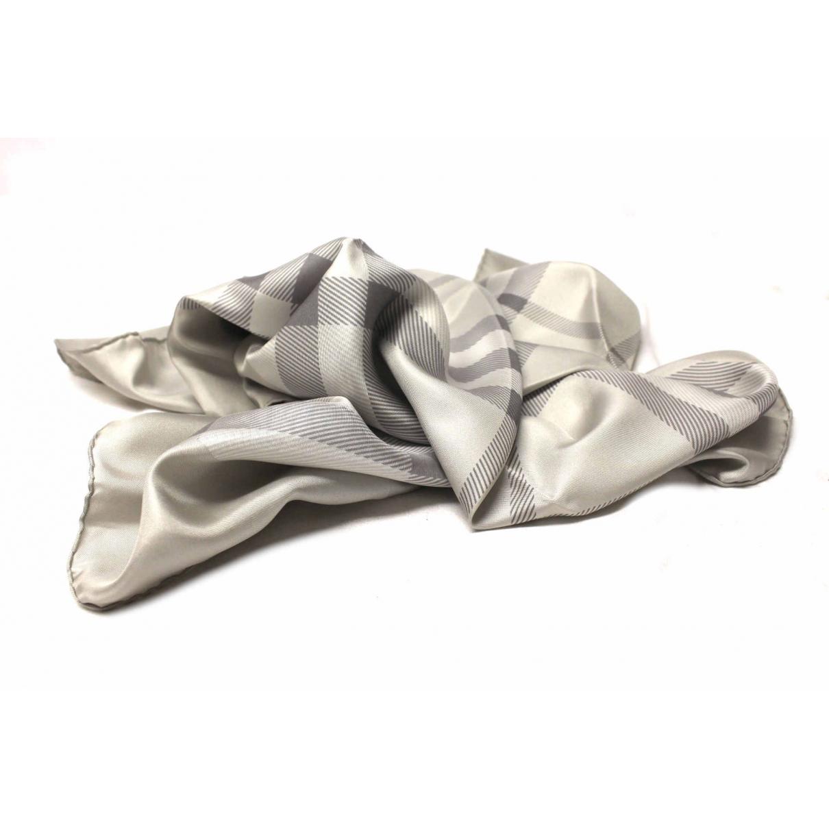 Burberry - Foulard   pour femme en soie