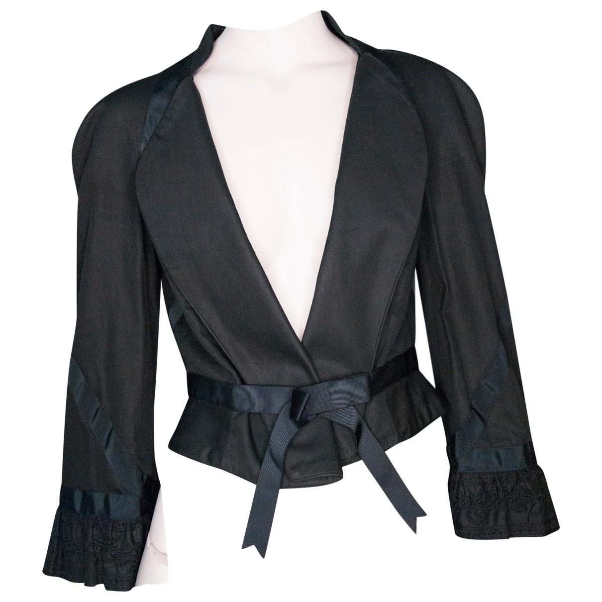 Alexander Mcqueen \N Black Cotton  top for Women 44 IT