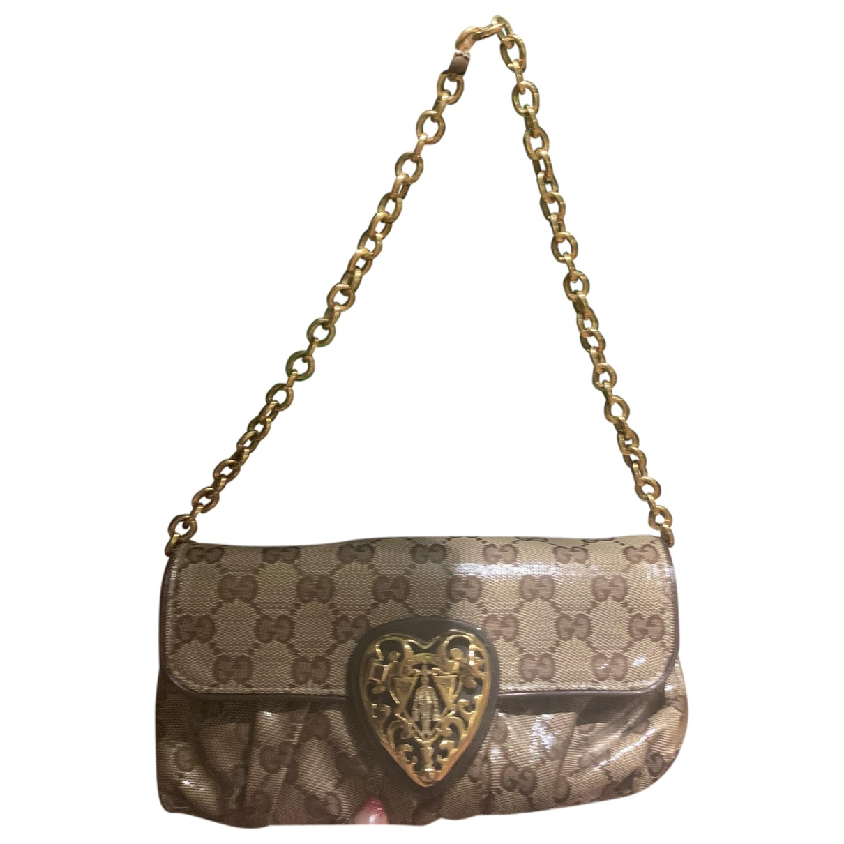 Gucci N Brown Cloth Clutch bag for Women N