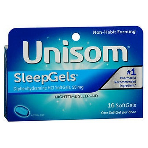 Unisom Sleepgels 16 caps by Unisom