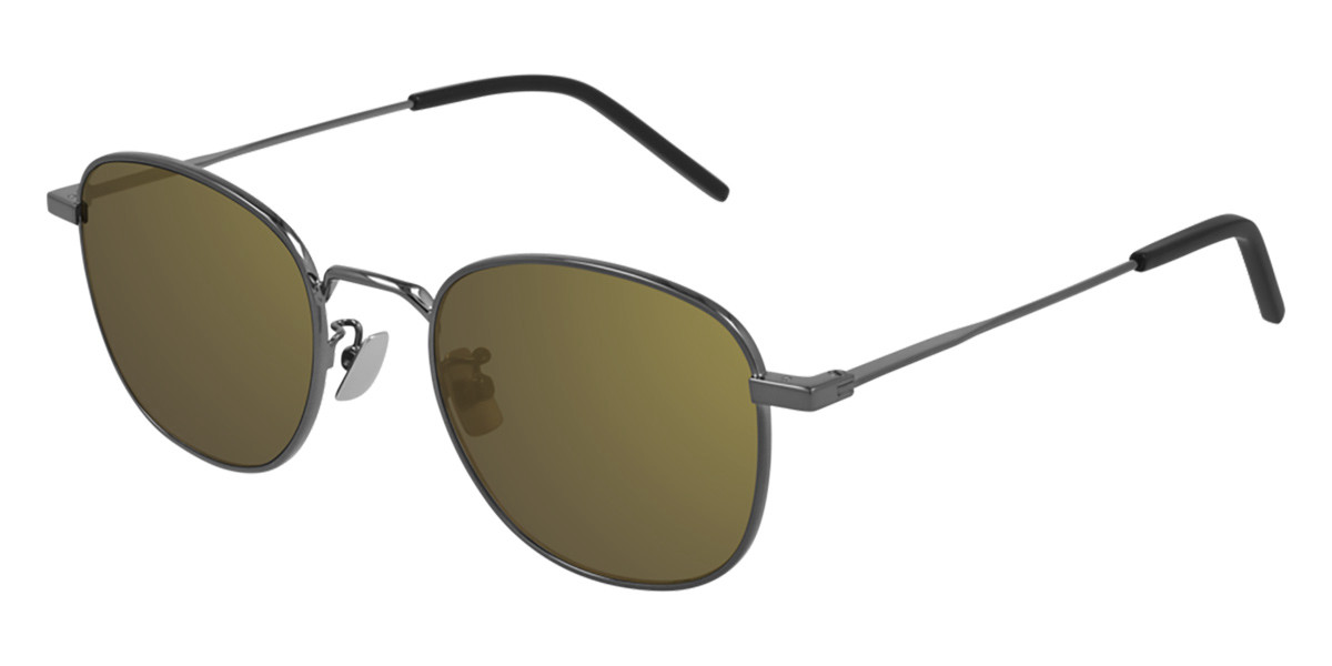 Saint Laurent SL 299 007 Men's Sunglasses Grey Size 50 - Free RX Lenses