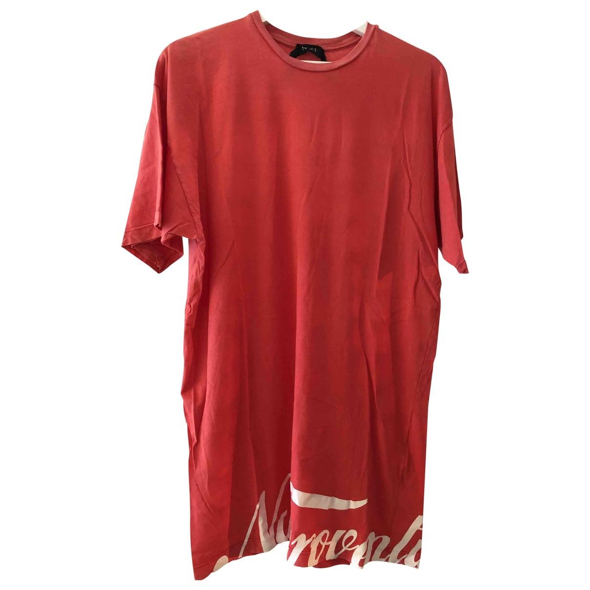 N°21 - Tee shirts   pour homme en coton - rose