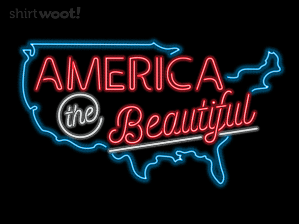 United States Of Neon T Shirt