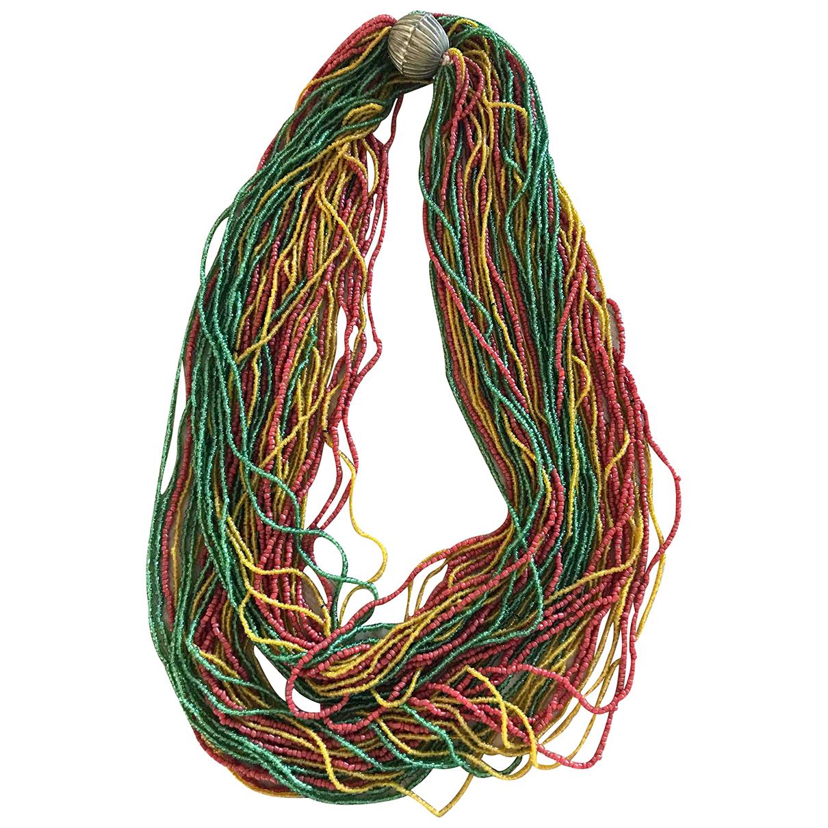 - Collier Motifs Ethniques pour femme en autre - multicolore