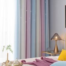 1 pieza cortina opaca a capas