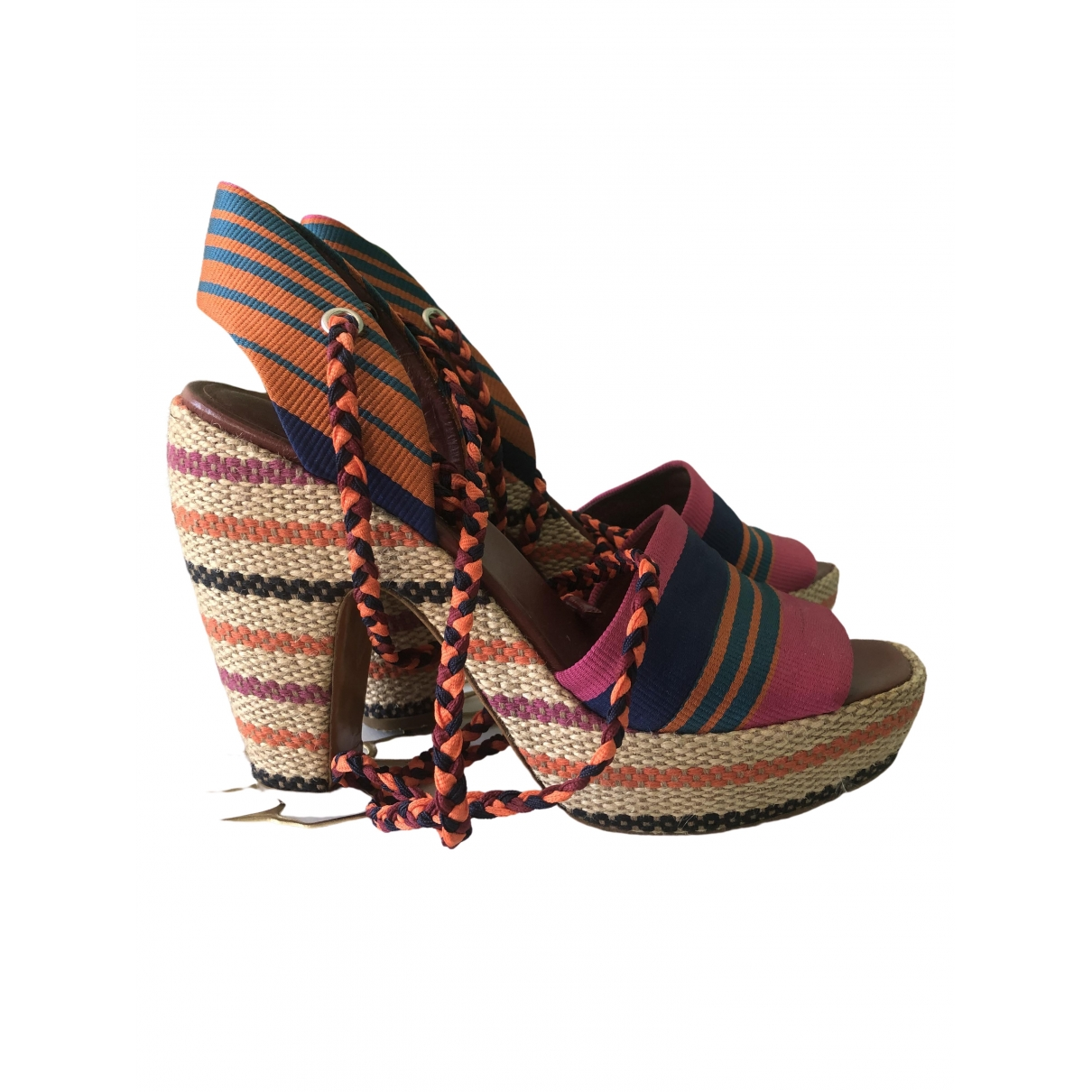 Marc By Marc Jacobs \N Clogs in  Bunt Leinen