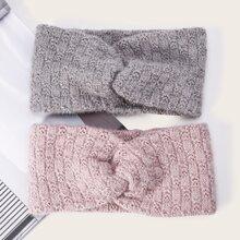 2pcs Twist Knit Headband