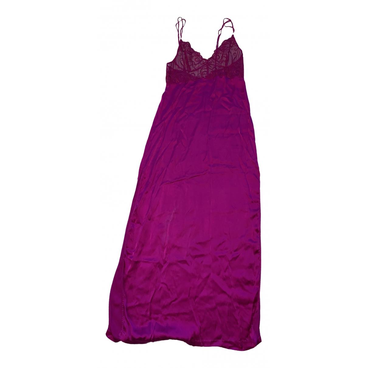 La Perla \N Pink Silk dress for Women 38 FR