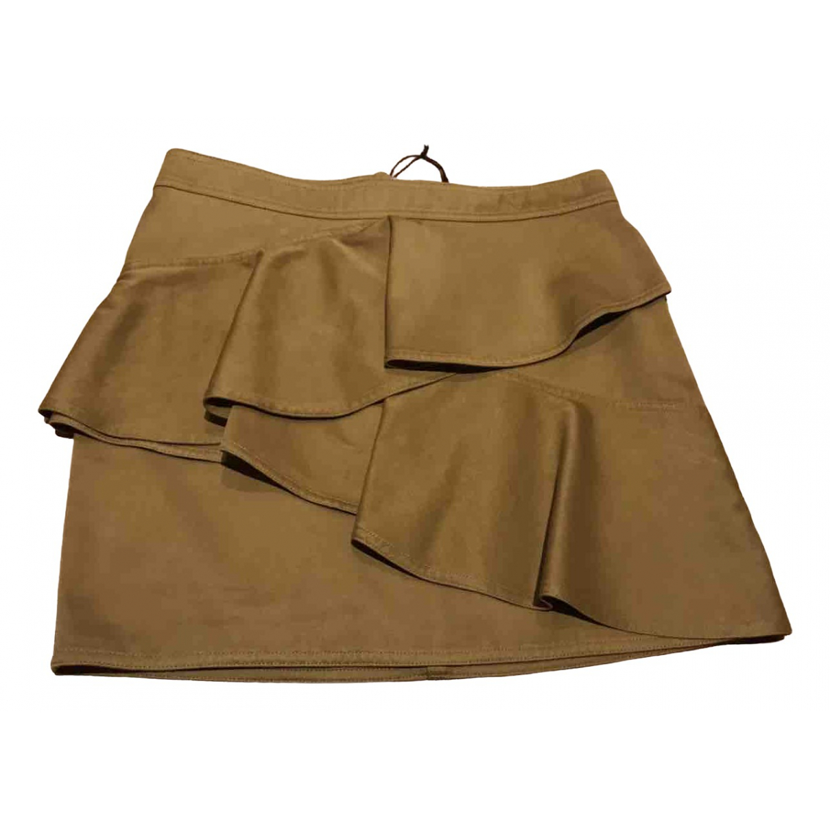 Isabel Marant Etoile \N Camel Cotton skirt for Women 38 FR