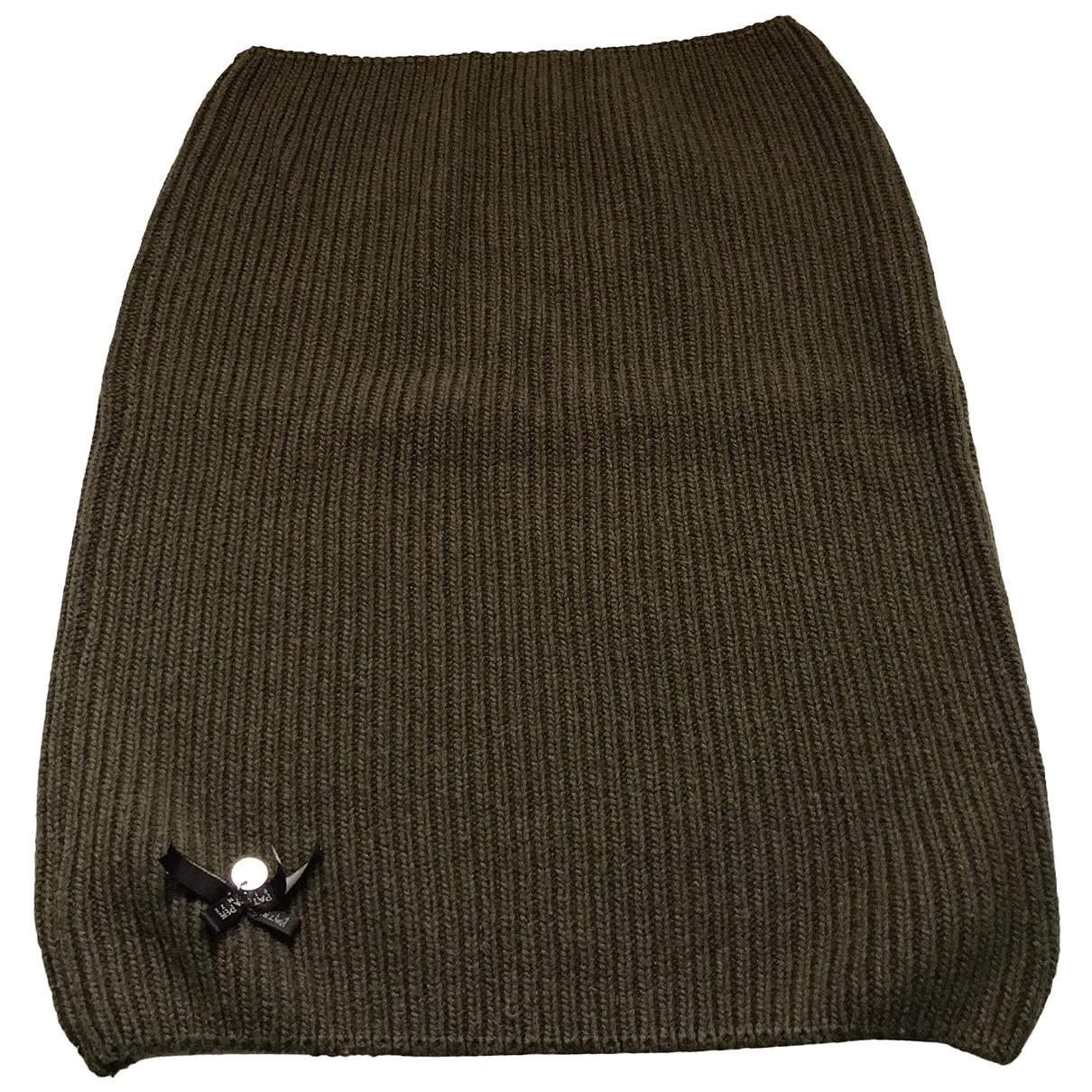 Patrizia Pepe \N Green Wool scarf for Women \N
