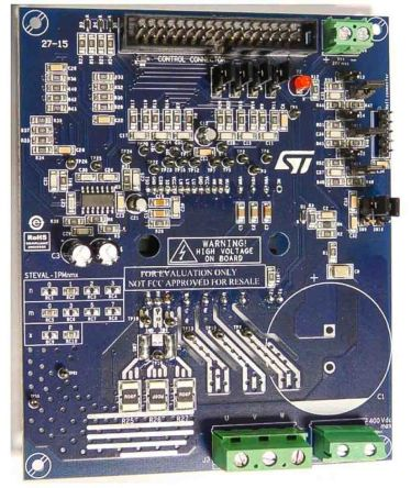 STMicroelectronics STEVAL-IPM10B Motor Control Power Board Evaluation Board for STGIB10CH60TS-L for Air Conditioning,