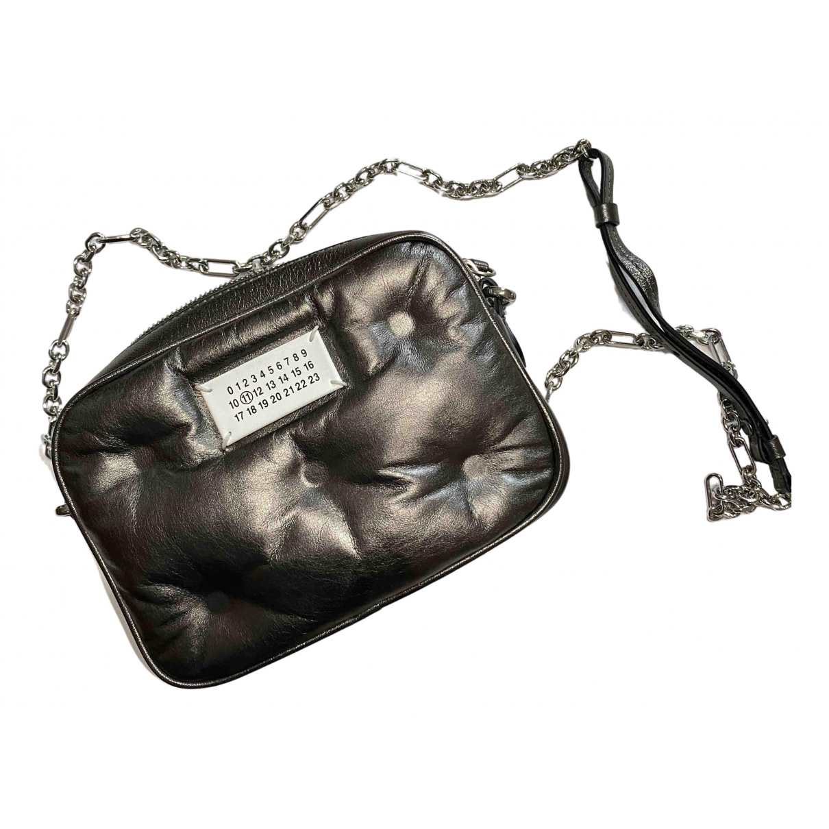 Maison Martin Margiela N Silver Leather handbag for Women N