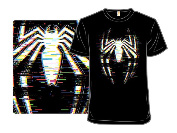 Spidey Glitch T Shirt