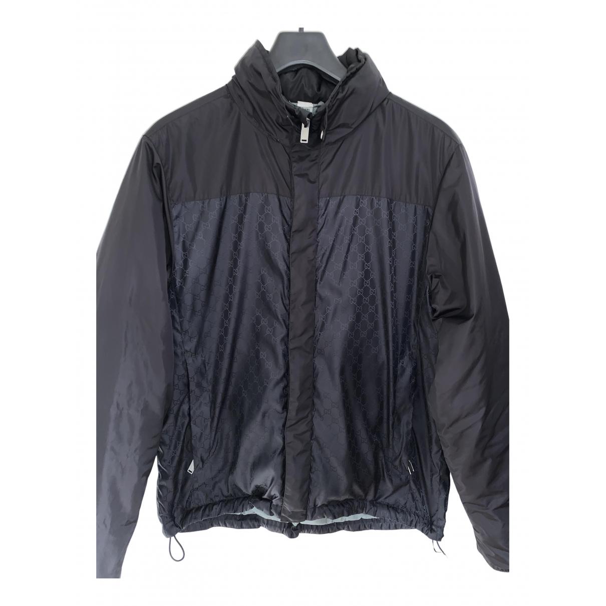 Gucci \N Jacke in  Schwarz Polyester