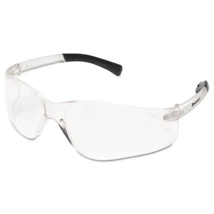 MCR Safety Crews BearKat® BK110 Safety Glasses, Scratch-Resistant, Clear