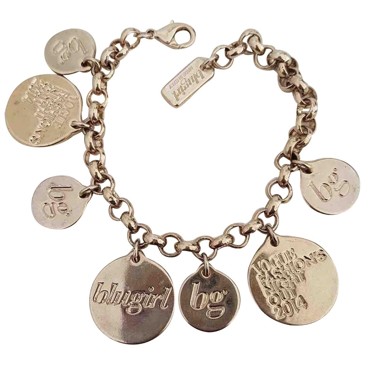 - Bracelet Medailles pour femme en metal - dore