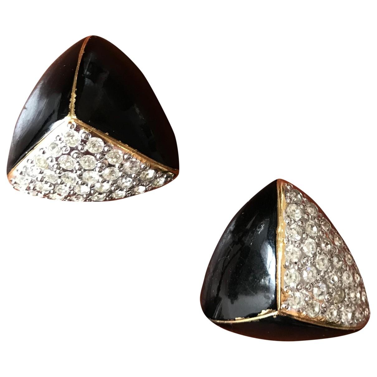 Yves Saint Laurent Arty Green Gold plated Earrings for Women \N