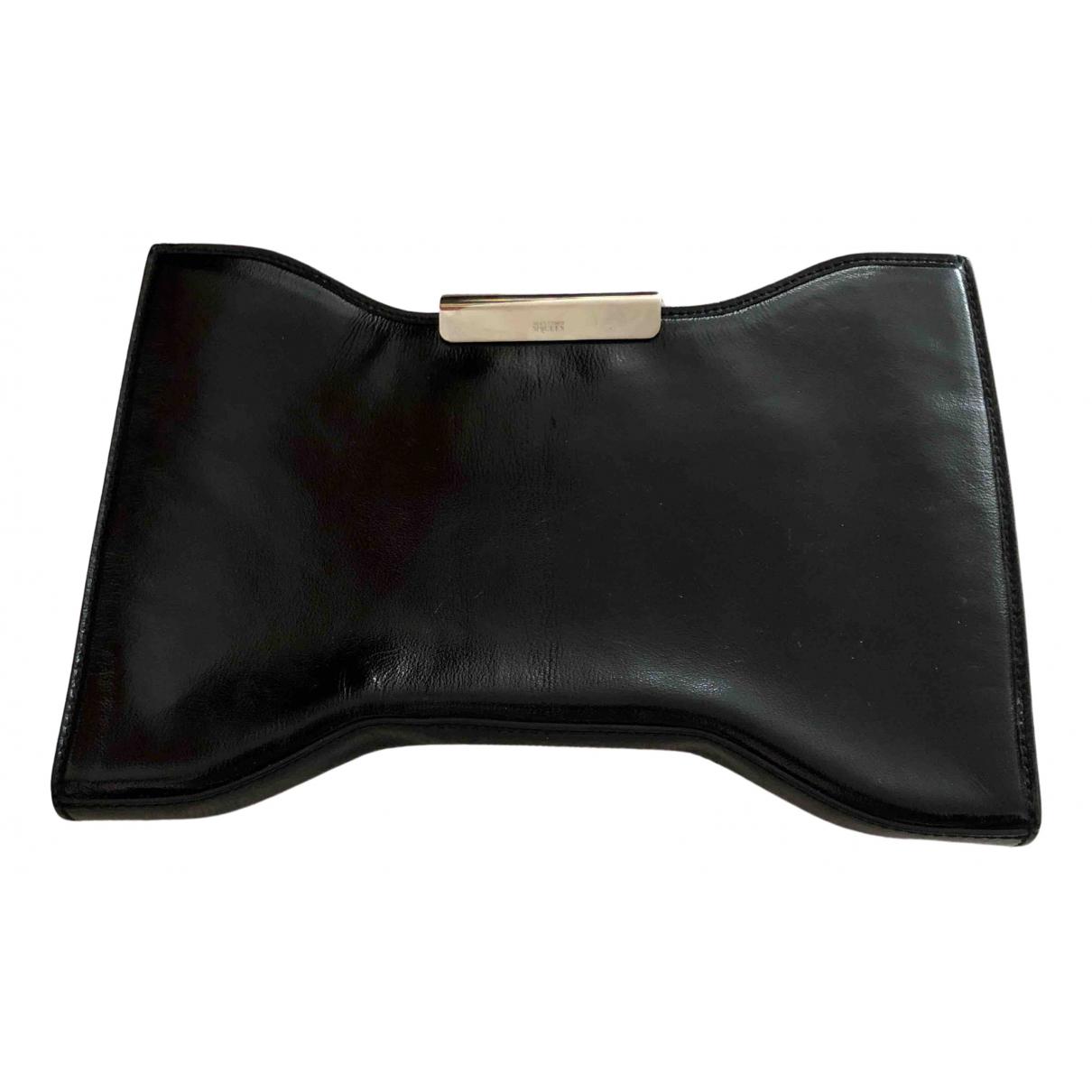 Alexander Mcqueen N Black Leather Clutch bag for Women N