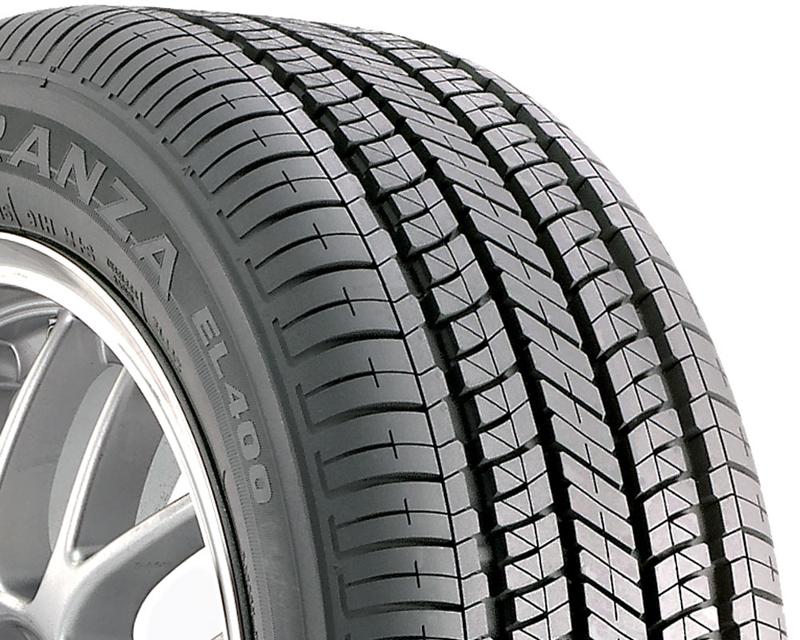 Bridgestone DT-25715 Turanza El400 Tires 205/55/16 89H Bw